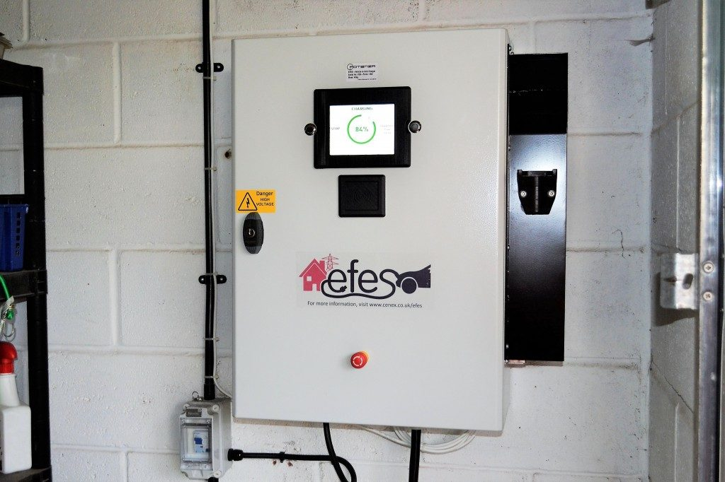Cenex leading installation of the UK's first domestic vehicle-to-grid unit